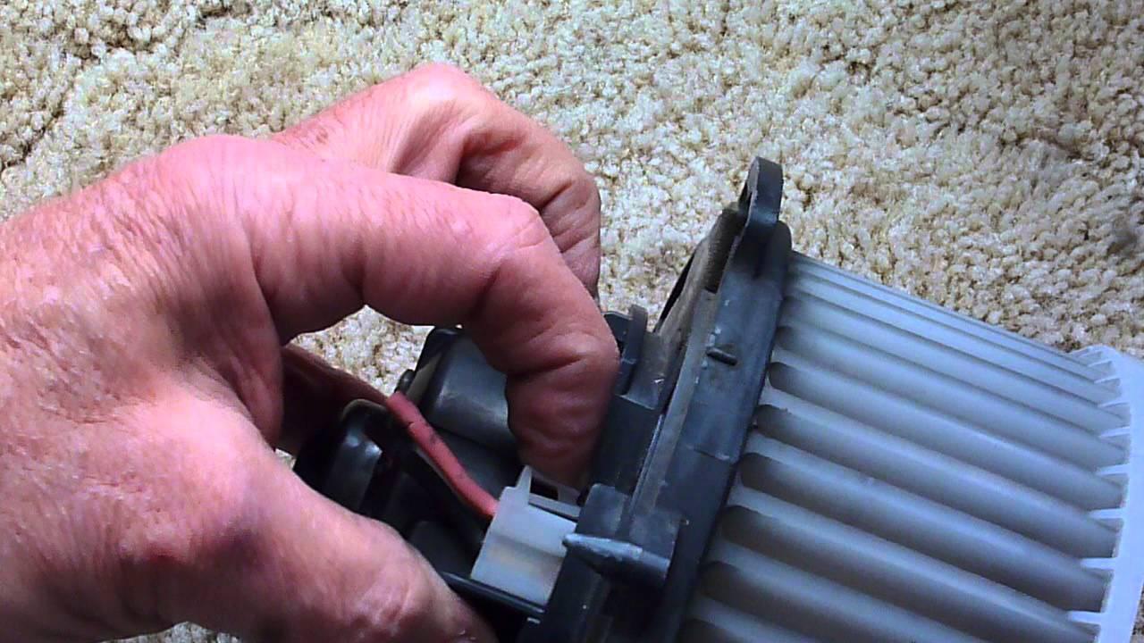 medium resolution of mazda 3 heater fan removal