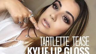 Eye Makeup Tutorial for Golden brown eyes (♥_♥) Jaclyn Hill palette! Golden brown eyes & red lips