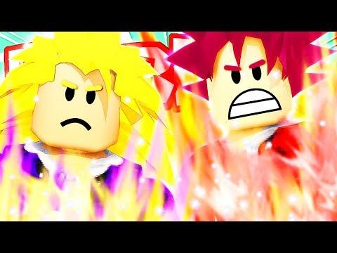 GUERRA TRA SUPER SAIYAN GOD E SUPER SAIYAN 3!! | Dragon Ball Super su Roblox ITA (Roleplay)
