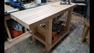 How I Made My First Real Workbench (Full Build)