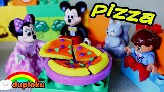 Video Makan Pizza Playdoh bersama Lego Minnie Mouse Mickey Restaurant | Kartun Anak Duploku download MP3, 3GP, MP4, WEBM, AVI, FLV April 2018