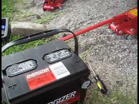 2000 Chrysler Sebring Convertible Battery Replacement