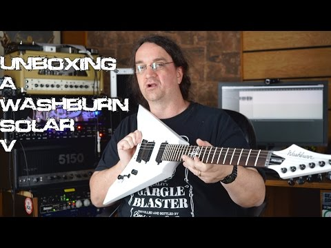 Unboxing a Washburn Solar V (and info on how you can win it)