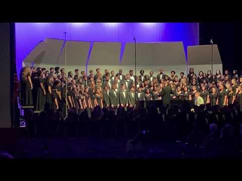 Durham School of the Arts' Entire High School Chorus (Grades 9-12), Spring 2019