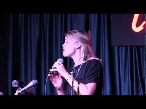"Bria Skonberg sings Janis Joplin's Hit ""Mercedes Benz"" at Iridium Jazz Club, NYC"