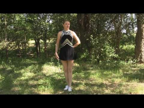 Baton Twirling Tips, How To, Routines 1 For Dance Team, Color Guard Or Cheerleaders