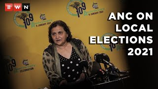 ANC deputy secretary-general Jessie Duarte briefed the media on 7 September 2021 on the outcomes of the IEC's latest announcement reopening candidate registrations.