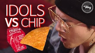 KPOP Idols Ruined by America's Spiciest Chip