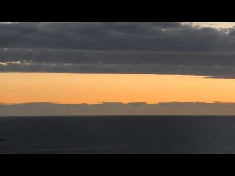 Sunset Over The Pacific Ocean: The Video