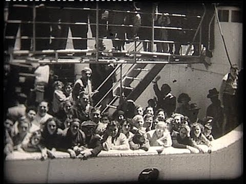 Canada: German immigrants in 1953 Einwanderer