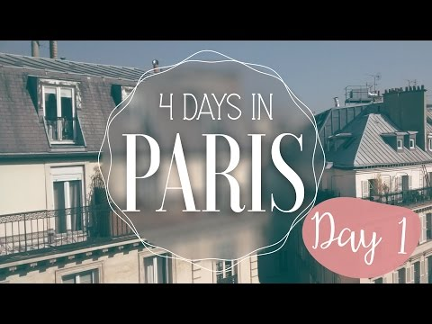Paris In 4 Days! Day 1: Eiffel Tower, Trocadero & Champ Elysees