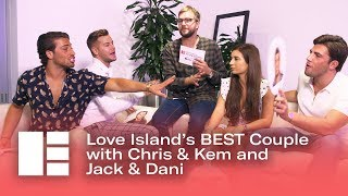 Jack & Dani vs Chris & Kem: Love Island's Best Couple? | Edinburgh TV Festival 2018