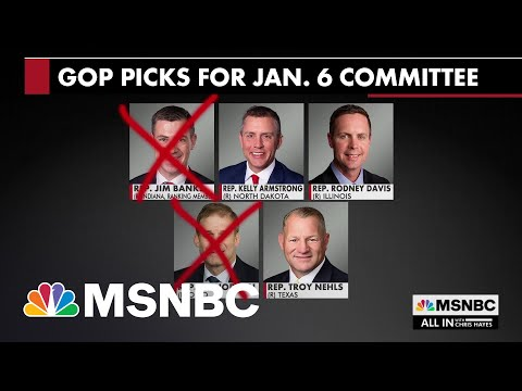Pelosi Nixes GOP Reps Nominated For Jan. 6 Committee Who Would Back Trump