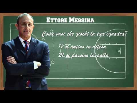 Ettore Messina: come vuoi che giochi la tua squadra?
