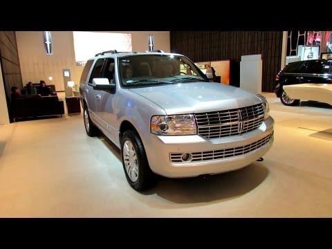 2012 Lincoln Navigator Exterior and Interior at 2012 Toronto Canadian International AutoShow CIA