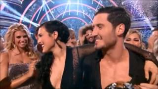 Rumer Willis and Val Chmerkovskiy - Win DWTS