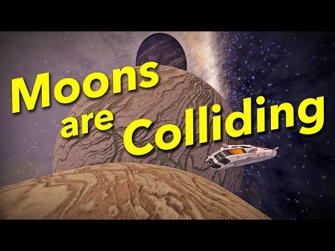How Moons Are Colliding in Elite Dangerous