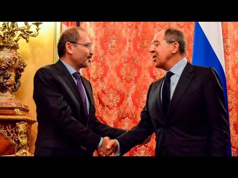 Переговоры С.Лаврова и A.Сафади| Sergey Lavrov - Ayman Safadi talks