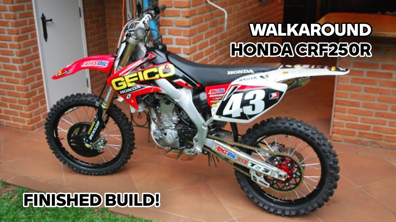 geico honda crf250r 2009 final update pro circuit ti4r youtube. Black Bedroom Furniture Sets. Home Design Ideas