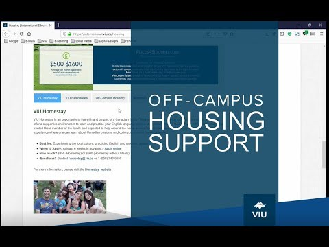 Off-Campus Housing Support- WorldVIU