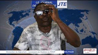 JTE /  Déclaration de Adjoumani, succession de Ouattara au RHDP
