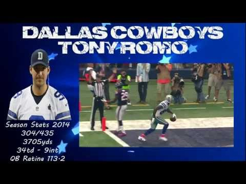 Dallas Cowboys QB Tony Romo - All TD Passes - OUR QB