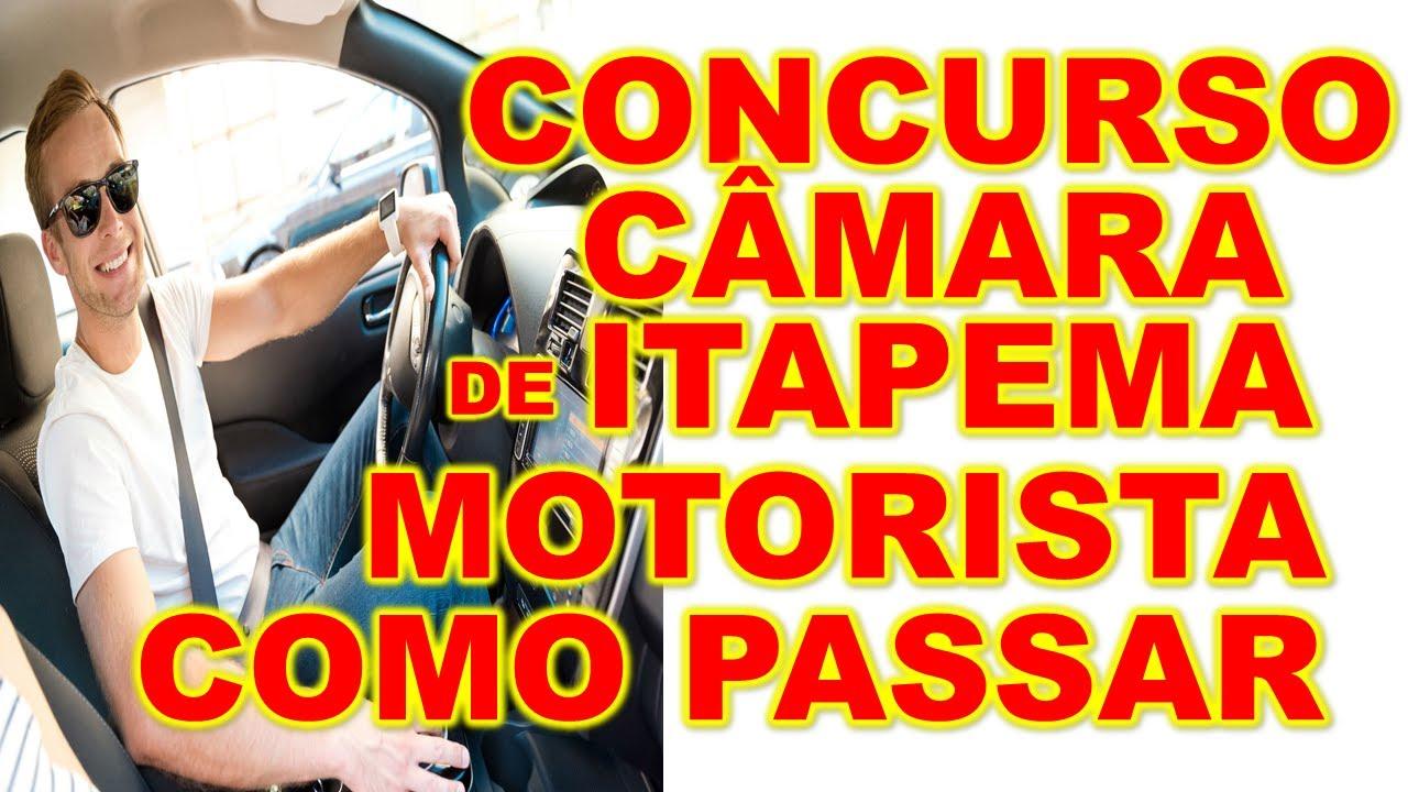 Concurso Itapema SC Motorista veja esse ALERTA para passar na prova AS MELHORES dicas banca #IPPEC