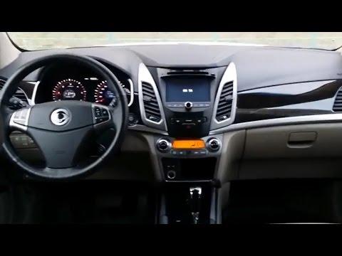 SsangYong New Actyon - салон, багажник interior review