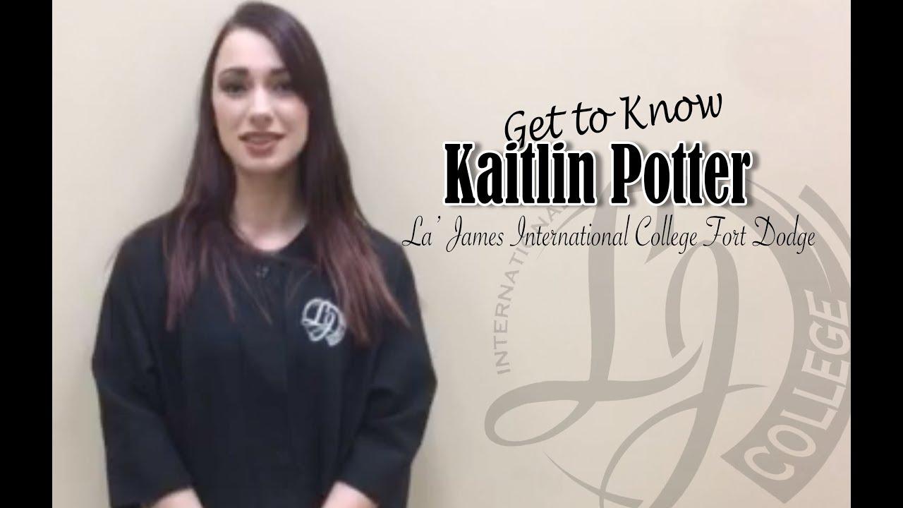 Let's chat with Kaitlin Potter (La' James International College Fort
