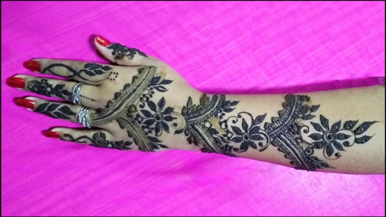 Henna design simple floral mehndi tutorial video lily learn henna design simple floral mehndi tutorial video lily learn how to apply mehendi henna designs baditri Images