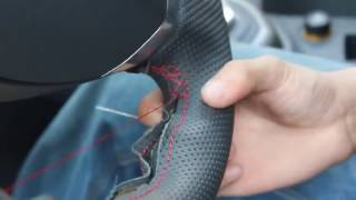 how to install a Steering wheel cover 02,steering wheel cover installation video on Amazon xuji