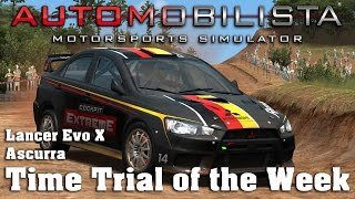 Automobilista | Hotlap | Rallycross Lancer Evo X | Ascurra [1:06.420]
