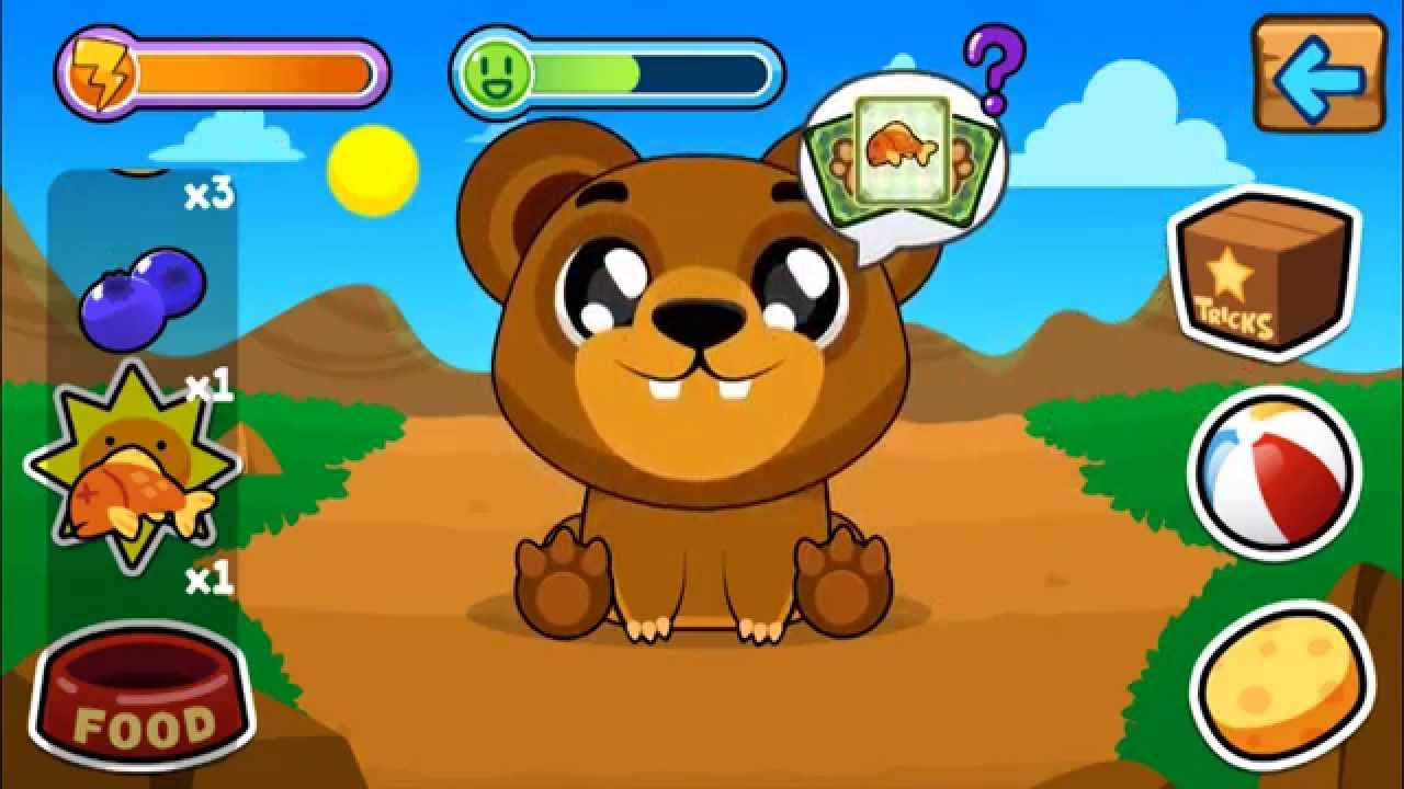 My Virtual Bear - Cute Kids Game with Pets for iPhone and Android