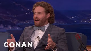 T.J. Miller Tried To Explain 'Gorburger' To Al Gore  - CONAN on TBS