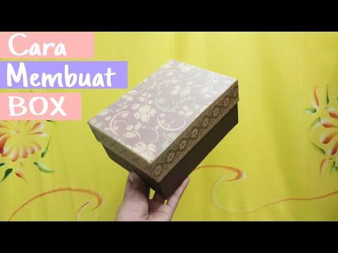 Cara Membuat Kotak Kado (Gift BOX) Sendiri