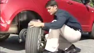 How to change your Flat Tyre & Maintain Correct Tyre Pressure