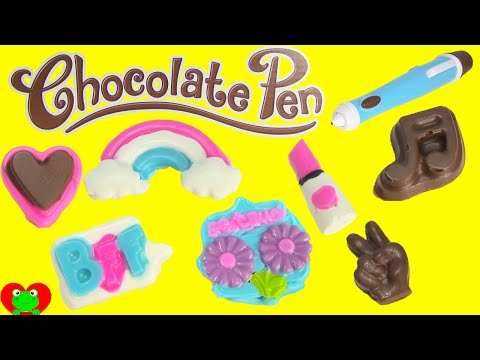 Chocolate Pen Candy Kids Craft BFF Treats