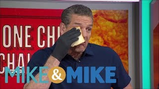 Mike & Mike crew does the 'One Chip Challenge' | Mike & Mike | ESPN thumbnail
