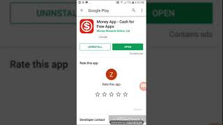 Money app for android - Very easy to earn - Just watch videos.