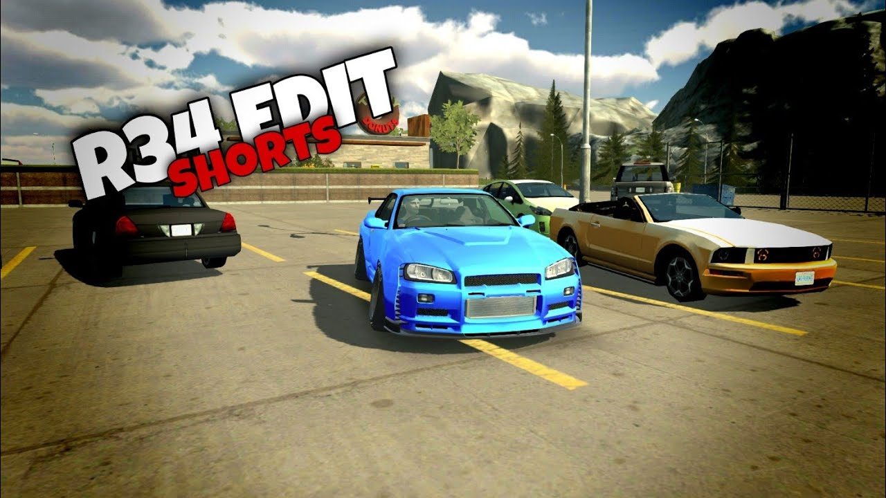 Clean R34 | Car Parking Multiplayer |#Shorts