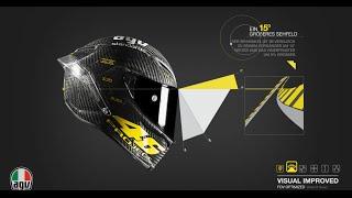 casco agv pista gp rossi project 46 limited