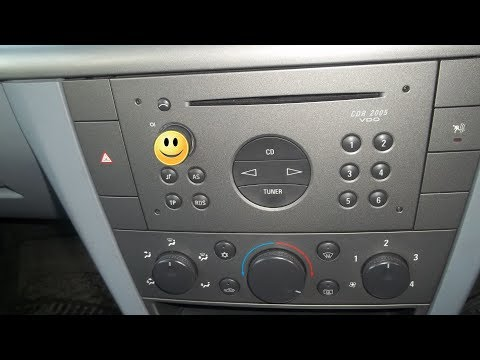 Fix Power ON/OFF and Volume button of the radio CDR 2005, if does not work (Opel, Vauxhall)