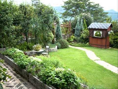 การจัดสวนหย่อมหน้าบ้าน รูป สวน หย่อม สวย ๆ