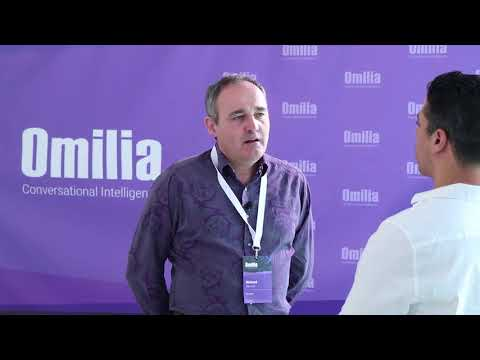 Omilia Training Day 2018 Interview - Richard Stewart, Business Development Manager at DisruptCX