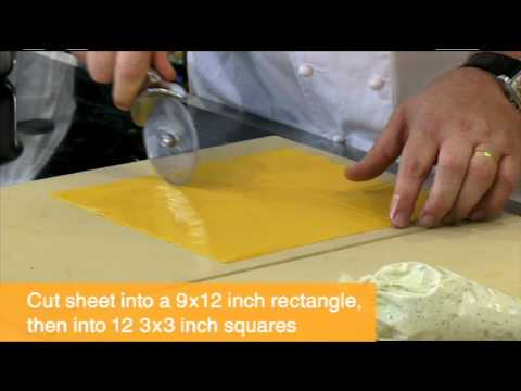 Chef Michael White makes Tortelli with Asparagus and Parmigiano Reggiano® cheese