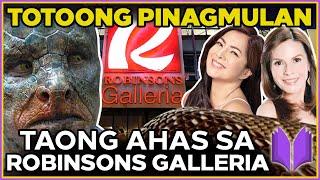 TAONG AHAS Sa ROBINSONS Galleria | TOTOONG Pinagmulan