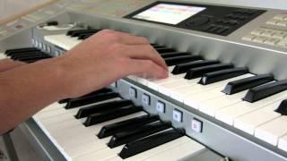 エレクトーンでヴァンヘイレンの名曲、「JUMP」を演奏してみました! (音源は0...