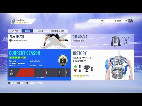 🔴 Pro Clubs Livestream  | FIFA 19 [55-1-0] thumbnail