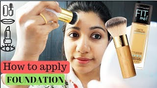 How to apply Foundation step by step for beginners  malayalam makeup tips for beginners stylish4you