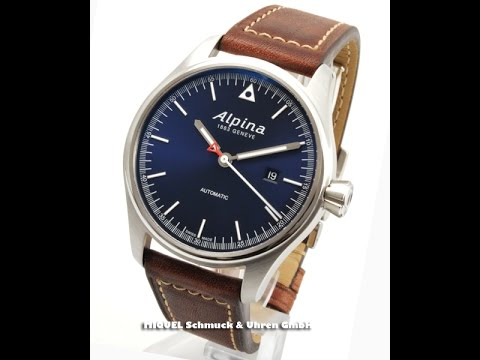 alpina startimer pilot limitiert auf 8888 st ck ref al 525n4s6 fm10742 youtube. Black Bedroom Furniture Sets. Home Design Ideas